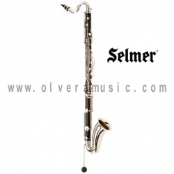 Selmer 1430LP en Sib Clarinete Bajo Background