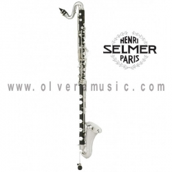 "Selmer París 65 ""Privilege"" en Sib Clarinete Bajo Background"