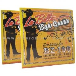 La Bella BX-100 Encordado para Bajo Quinto