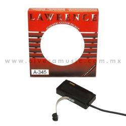 Lawrence Mod. A-345C pastilla para guitarra acústica