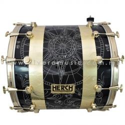 Herch Mod.BRJ-BK-GB tambora 22x24 pulgadas