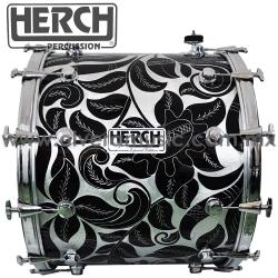 Herch Mod.HJ-BL-GB tambora de 20x24 pulgadas