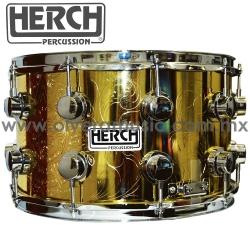 Herch Mod.CAZ-DRD-GB tarola 8x14 pulgadas