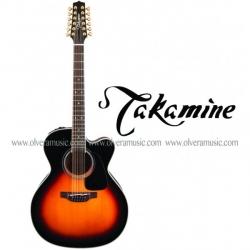 TAKAMINE Guitarra Electro-Acustica 12 Cuerdas - Serie Pro 6