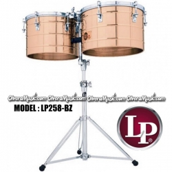 "Timbales LP Thunder Tito Puente LP258-BZ 15""x16"" (Bronce)"