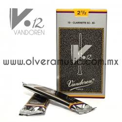 Caña Vandoren V12 para Clarinete Sib