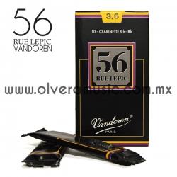 56 Rue Lepic Vandoren caña para clarinete Sib