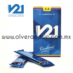 V21 Vandoren caña para clarinete Sib