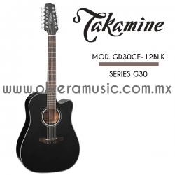 Takamine Mod.GD30CE-12BKL Serie G30
