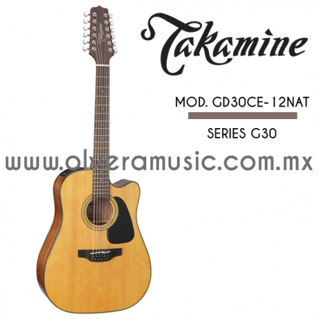 Takamine Mod.GD30CE-12NAT Serie G30