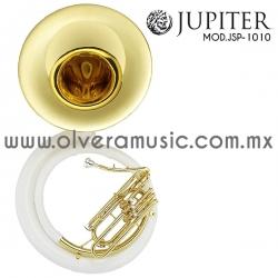 Jupiter Mod.JSP-1010 tuba combinada fibra-metal terminado laca tono de Sib