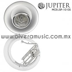 Jupiter Mod.JSP-1010S  tuba combinada fibra-metal terminado plata tono de Sib