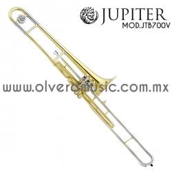 Jupiter Mod.JTB-700V trombón terminado laca tono de Sib