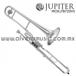 Jupiter Mod.JTB-720VS trombón terminado plata tono de Do