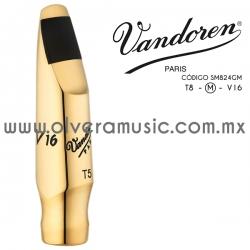 Vandoren Mod.V16 Metal (T8M) boquilla para saxofón tenor