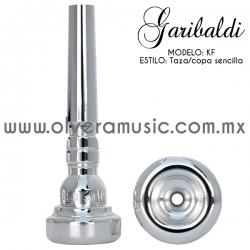 Garibaldi Mod.KF boquilla para trompeta taza sencilla