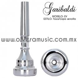 Garibaldi Mod.EV boquilla para trompeta taza sencilla