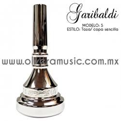 Garibaldi Mod. S boquilla para saxor taza sencilla
