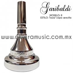 Garibaldi Mod. R boquilla para trombón taza sencilla