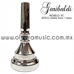 Garibaldi Mod.DC boquilla para trombón doble taza