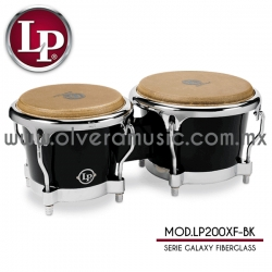 LP Mod.LP200XF-BK bongo Serie Galaxy Fiberglass (fibra de vidrio)