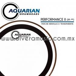 Aquarian Mod.Performance II parche hidráulico transparente