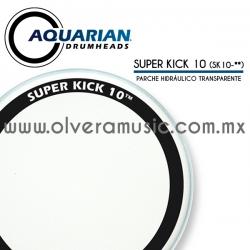 Aquarian Mod.Super Kick 10 parche hidráulico transparente