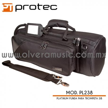 Protec Platinum Mod.PL238 funda para trompeta