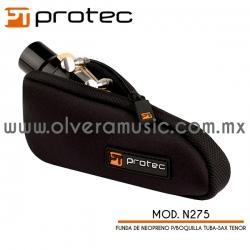 Protec Mod.N275 funda de neopreno para boquilla de  tuba/saxofón tenor.