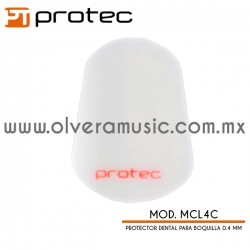 Protec Mod.MCL4C protector dental para boquilla 0.4 mm (transparente)