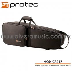 Protec Mod.CF217 Serie Gold funda para ukulele concierto