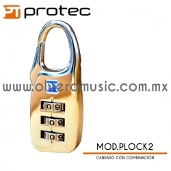 Protec Mod.PLOCK2 candado con combinación