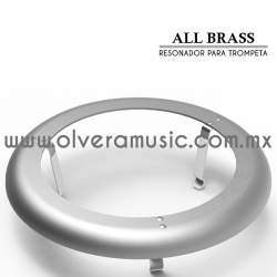 All Brass resonador de aluminio para trompeta