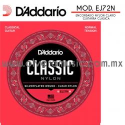 D´Addario Mod.EJ27N encordado de nylon para guitarra clásica (tensión normal)
