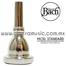 Vincent Bach Mod.Standard boquilla para tuba taza sencilla