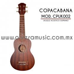 Copacaba Mod.CPUK002 ukulele soprano acústico