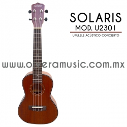 Solaris Mod.U2301 ukulele concierto acústico