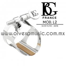 BG France Mod.L2 abrazadera para clarinete en Sib/Bb