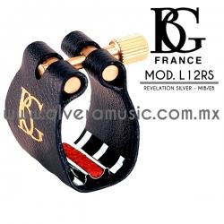 BG France Mod.L12RS abrazadera para saxofón alto Mib/Eb