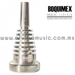 Boquimex Mod. DC boquilla para saxor (Doble taza)
