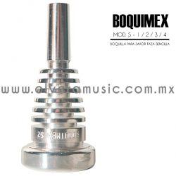 Boquimex Mod. S boquilla para saxor (Taza sencilla)