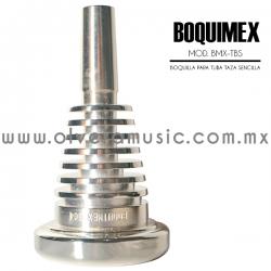 Boquimex Mod. BMX-TBS boquilla para tuba (Taza sencilla)Boquimex Mod. BMX-TBS boquilla para tuba (Taza sencilla)