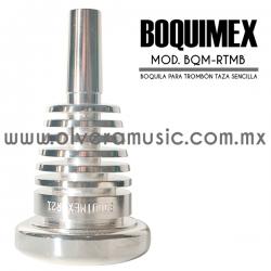 Boquimex Mod. BMX-TMBR boquilla para trombón (Taza sencilla)
