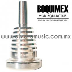 Boquimex Mod. BMX-DCTMB boquilla para trombón (Doble taza)