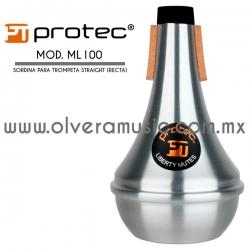 Protec Mod.ML100 Liberty sordina para trompeta straight (recta)