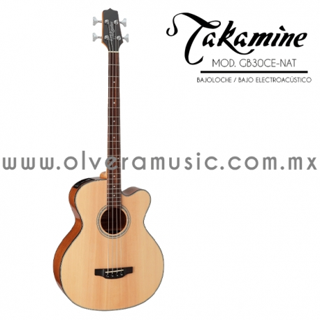 Takamine Mod.GB30CE-NAT Bajo electroacúsitco/bajoloche