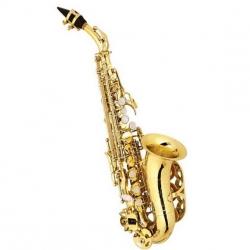 Saxofon Soprano Silvertone