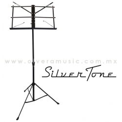 Silvertone Atril para Partitura Negro