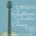 Cuerdas Guitarra Acústica / Clásica